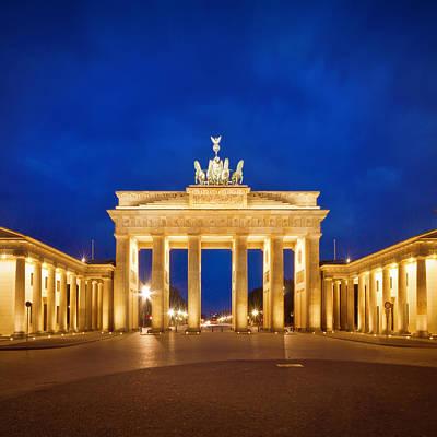 Prussia Photograph - Berlin Brandenburg Gate by Melanie Viola