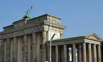 Photograph - Berlin Brandenburg Gate by Steven Richman