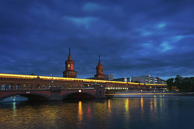 Berlin Bridge Print by Anton Averin