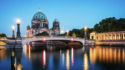 Architecture Photograph - Berlin Cathedral - Museum Island by Alexander Voss