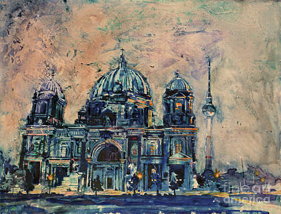 Painting - Berlin Cathedral by Ryan Fox