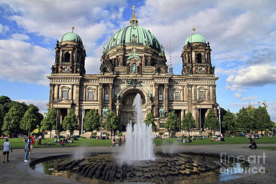 Photograph - Berlin Cathedral by Teresa Zieba