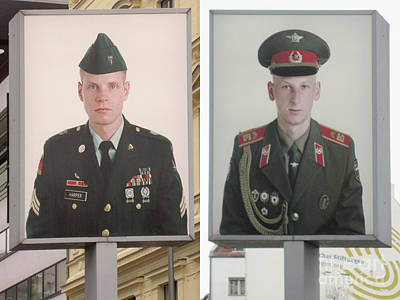 Photograph - Berlin Checkpoint Charlie 3 by Rudi Prott