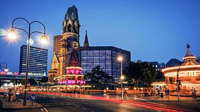Berlin Photograph - Berlin - City West / Breitscheidplatz by Alexander Voss