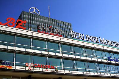 Photograph - Berlin Europa Center by John Rizzuto