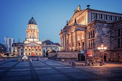 Berlin Photograph - Berlin - Gendarmenmarkt Square by Alexander Voss