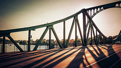Berlin Photograph - Berlin - Glienicke Bridge by Alexander Voss