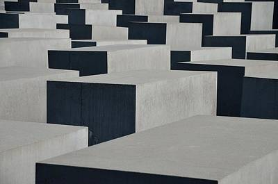 Photograph - Berlin Holocaust Memorial by Steven Richman
