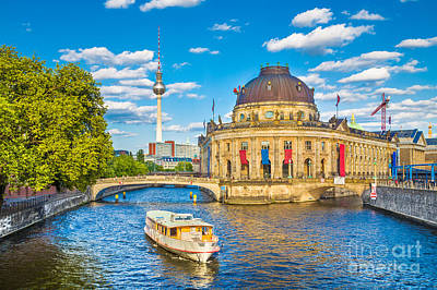 Photograph - Berlin Museum Island by JR Photography
