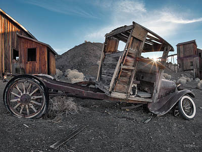 Photograph - Berlin Nevada by Leland D Howard