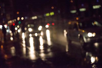 Photograph - Berlin Nocturne by Alex Lapidus