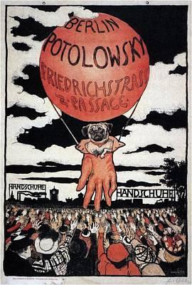 Mixed Media - Berlin Potolowsky - Friedrichstrass Passage - Germany - Retro Travel Poster - Vintage Poster by Studio Grafiikka
