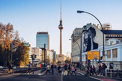 Prenzlauer Berg Photograph - Berlin - Prenzlauer Allee by Alexander Voss
