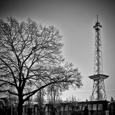 Watch Tower Photograph - Berlin Radiotower by Melanie Viola