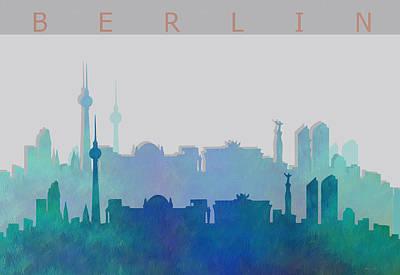 Berlin Digital Art - Berlin Shadow by Alberto  RuiZ