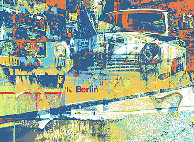 Mixed Media - Berlin by Shay Culligan
