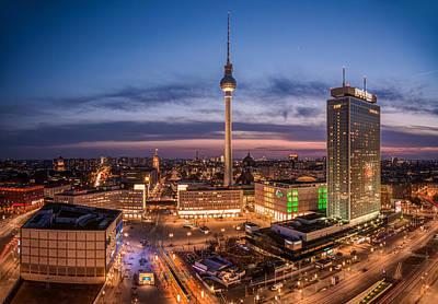 Berlin - Skyline Alexanderplatz  Art Print
