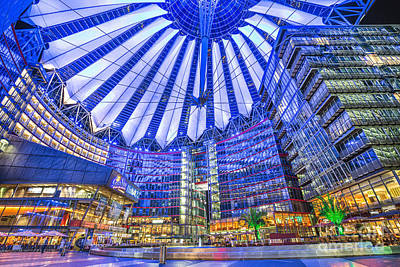 Photograph - Berlin Sony Center by JR Photography
