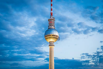 Photograph - Berlin Tv Tower by JR Photography
