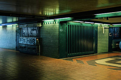 Berlin Underground Station Art Print