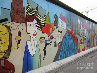 Photograph - Berlin Wall Art 2 by Rudi Prott