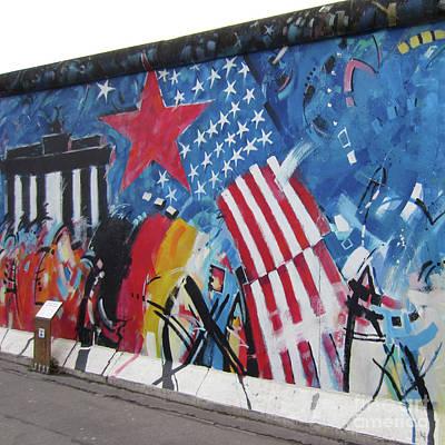 Photograph - Berlin Wall Art 4 by Rudi Prott