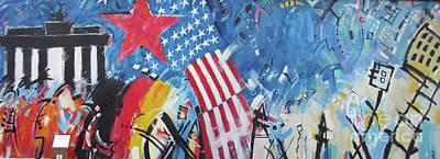 Photograph - Berlin Wall Art 6 by Rudi Prott