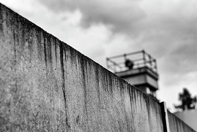 Abstract Street Photograph - Berlin Wall by Frank Andree