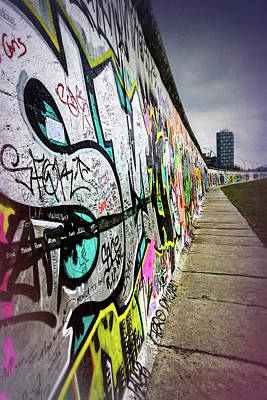 Photograph - Berlin Wall Germany  by Carol Japp