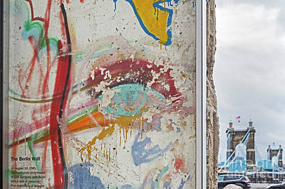 Photograph - Berlin Wall by Jim West