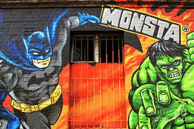 Photograph - Berlin Wall Monsta Door by John Rizzuto