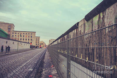 Photograph - Berlin Wall by Patricia Hofmeester