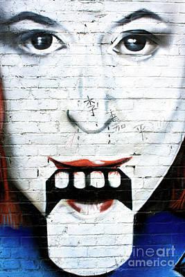 Photograph - Berlin Wall Tongue by John Rizzuto