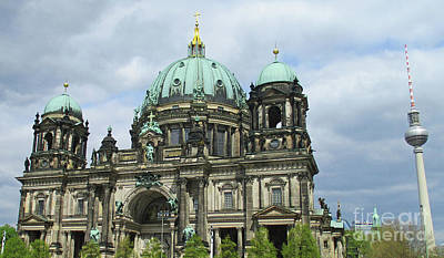 Photograph - Berliner Dom 1 by Randall Weidner