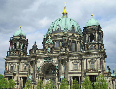Photograph - Berliner Dom 2 by Randall Weidner