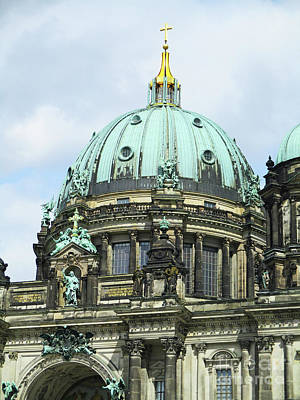 Photograph - Berliner Dom 3 by Randall Weidner