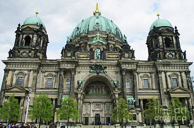 Photograph - Berliner Dom 4 by Randall Weidner