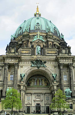 Photograph - Berliner Dom 5 by Randall Weidner