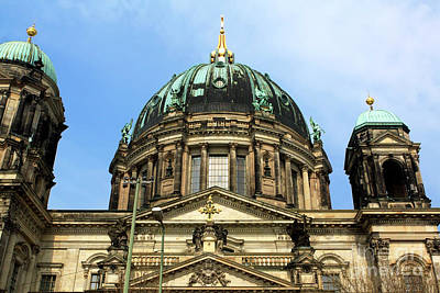 Photograph - Berliner Dom Dome by John Rizzuto