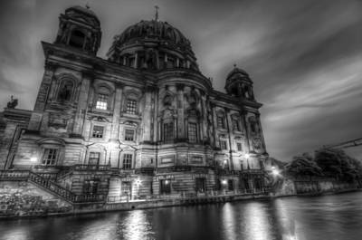 Digital Art - Berliner Dom  by Nathan Wright