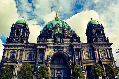 Gold Pattern - Berliner Dome by Christina Zizzo