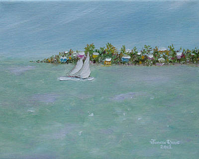 Painting - Bermuda Bound by Judith Rhue