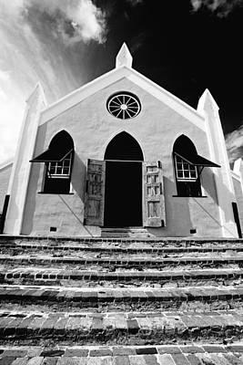 Bermuda Church Art Print by George Oze