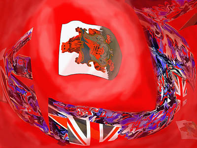 Photograph - Bermuda Flags by Ian  MacDonald