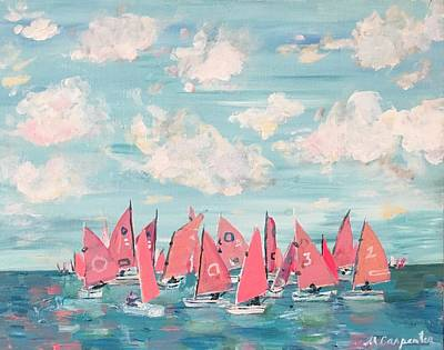 Painting - Bermuda Sail by Mindy Carpenter