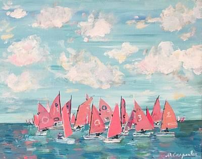 Painting - Bermuda Sail by Mindy Carpenter