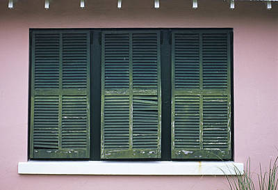 Photograph - Bermuda Shutters by Doug Davidson