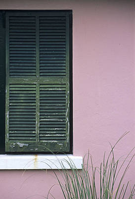 Photograph - Bermuda Shutters II by Doug Davidson