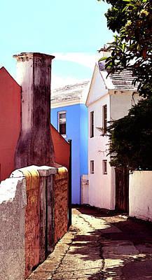 Photograph - Bermuda Street Scene-study#6 by Richard Ortolano