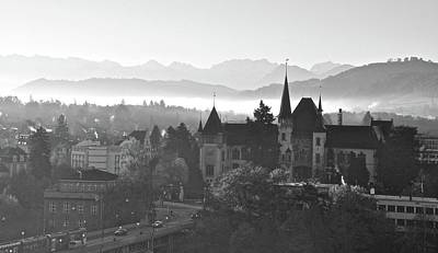 Photograph - Bern In The Fog by Matt MacMillan